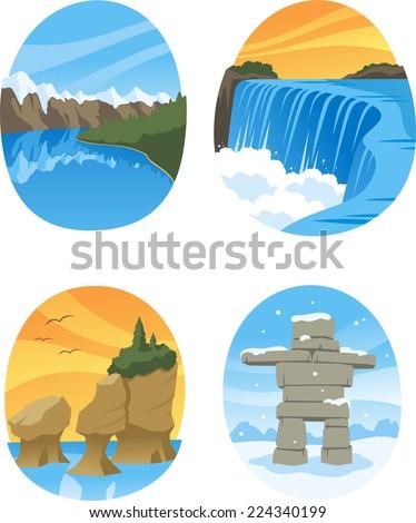 canadian nature landmarks