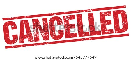 Cancelled Stamp Foto stock ©