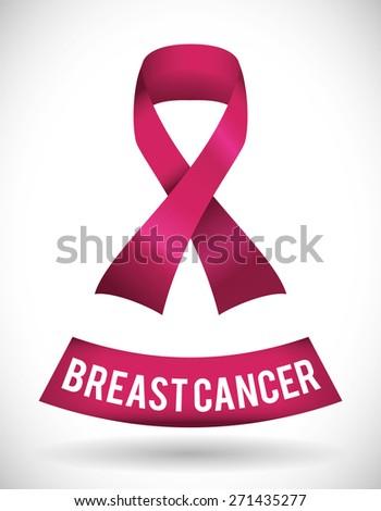 Cancer design over white background, vector illustration. #271435277