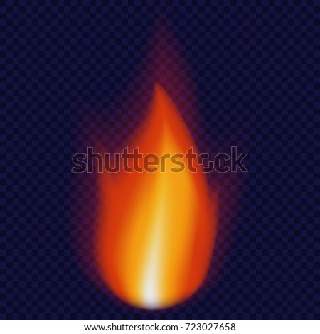 candle flame concept background
