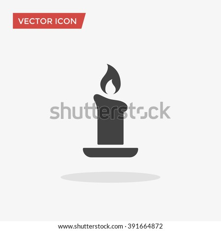 candle icon  candle icon vector