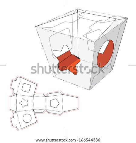 Candy Box with Display with Blueprint