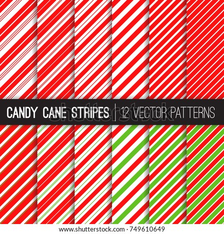 candy cane stripes vector
