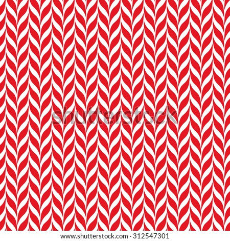 Candy canes vector background. Seamless xmas pattern with red and white candy cane stripes. Cute winter holiday background.