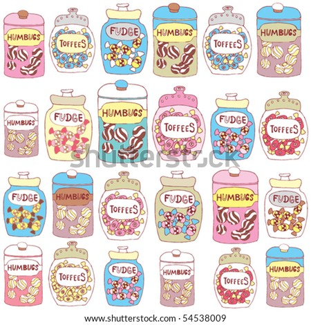 candy seamless background