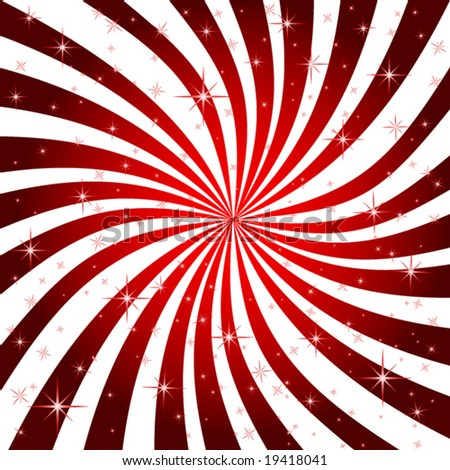 Candy Stripe Background - stock vector