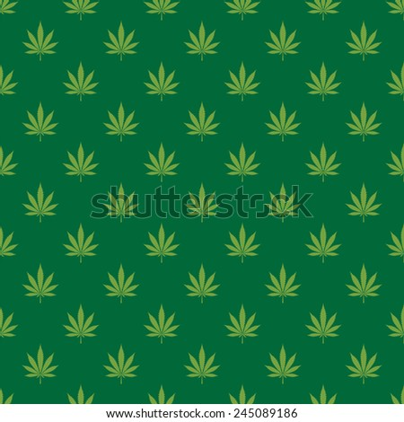 cannabis leaf seamless