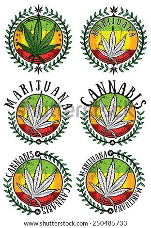 cannabis marijuana weed design