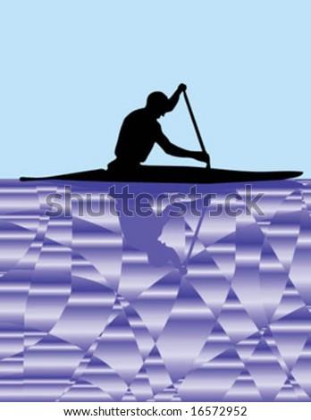 Canoe player