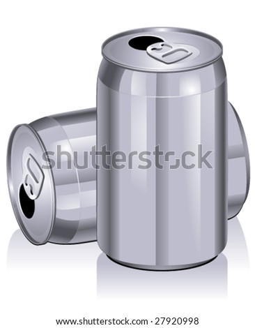 Cans - Vector