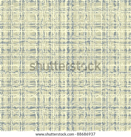 Canvas seamless pattern, vector background.
