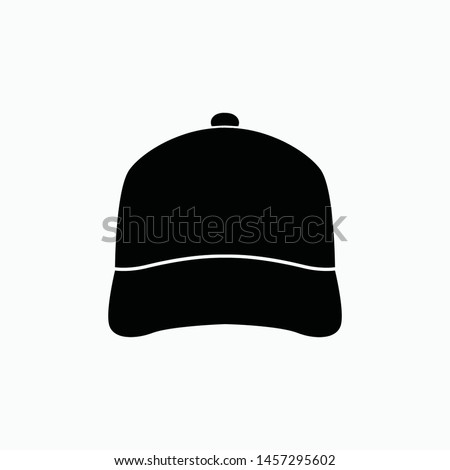 cap icon vector sign symbol isolated