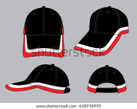 Hat template - Download Free Vector Art, Stock Graphics & Images