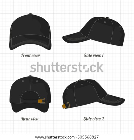 dad hat template