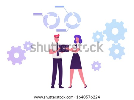 Capacity Building Process by which Individuals and Organizations Obtain, Improve and Retain Skills, Knowledge Tools Equipment and other Resources Needed to do Jobs Competently. Vector Illustration