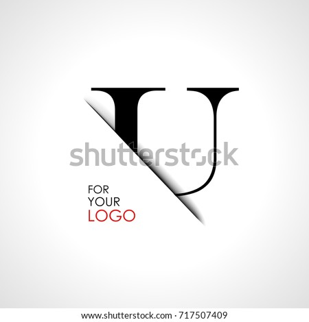 capital u letter is inserted in