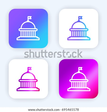 capitol bright purple and blue