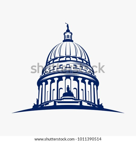 Capitol dome logo design inspiration - Capital logo design inspiration