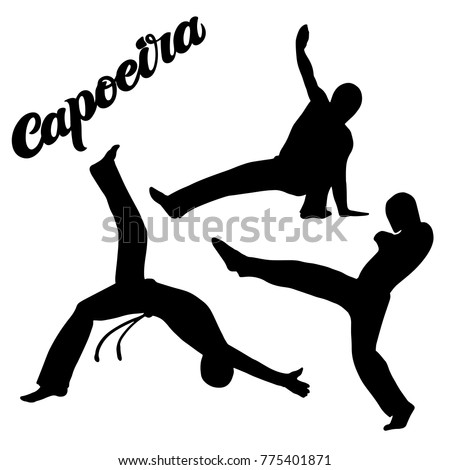capoeira lettering and