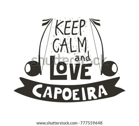 capoeira music logo