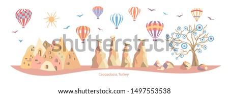 cappadocia  turkey colorful