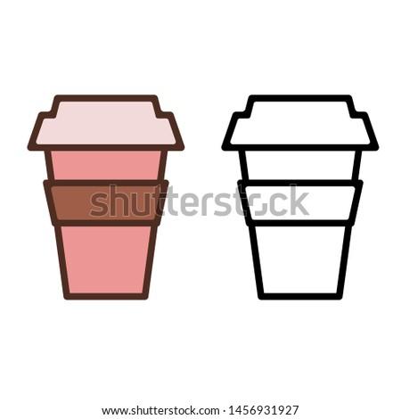 cappuccino icon vector, cappuccino illustration design, eps10.