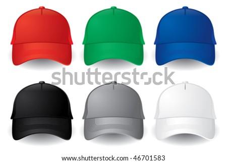 Caps. Baseball caps
