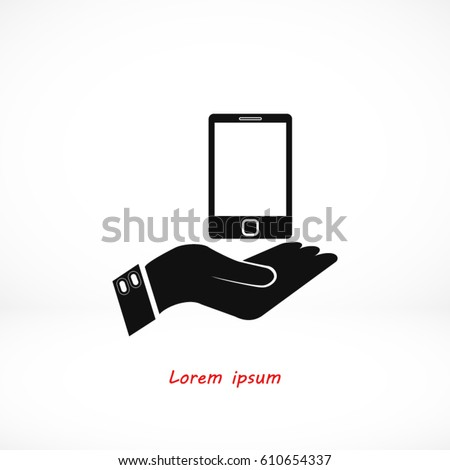 Capture Mobile vector, Vector EPS 10 illustration style