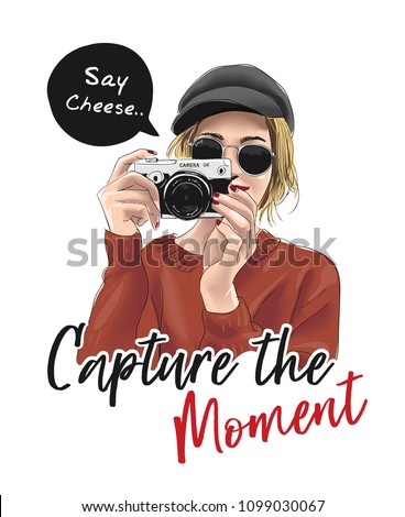 capture the moment slogan with