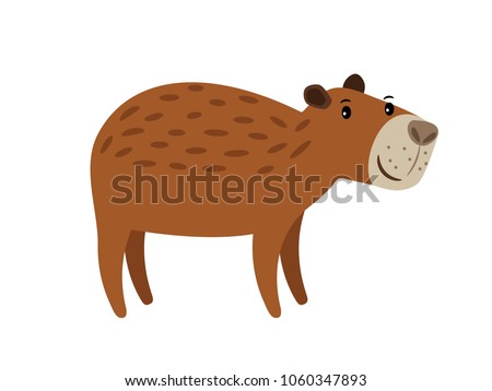 Capybara Free Vector Art 3 Free Downloads