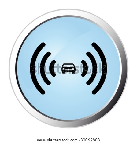 Car alarm web button