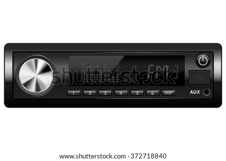 car audio media receiver