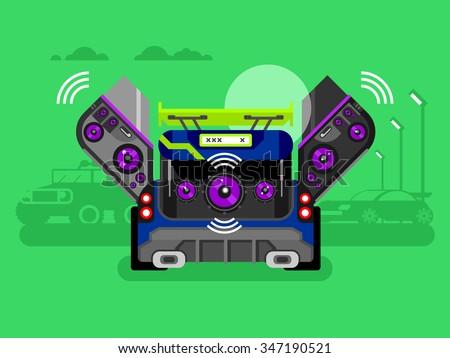 car audio system music