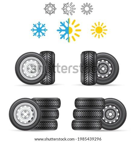 car auto tire all season winter