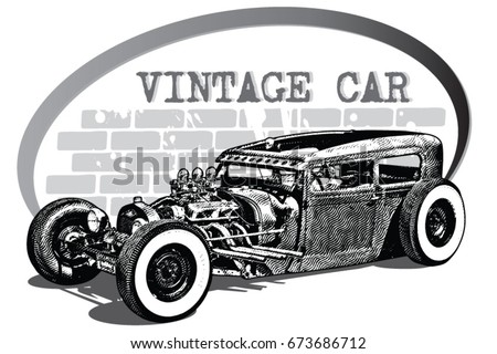 car custom and car vintage