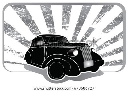 car custom and car vintage
