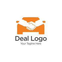 Car Deal Logo Template Design Vector