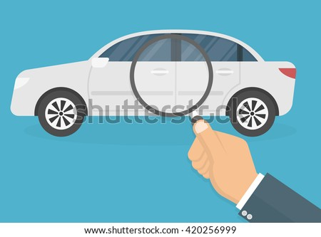 car diagnostic concept hand