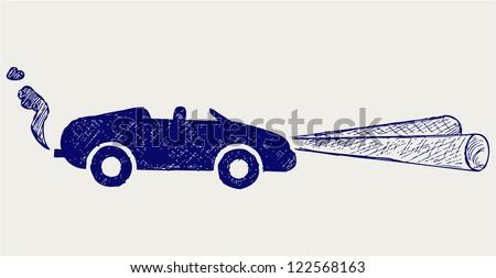 Car. Doodle style