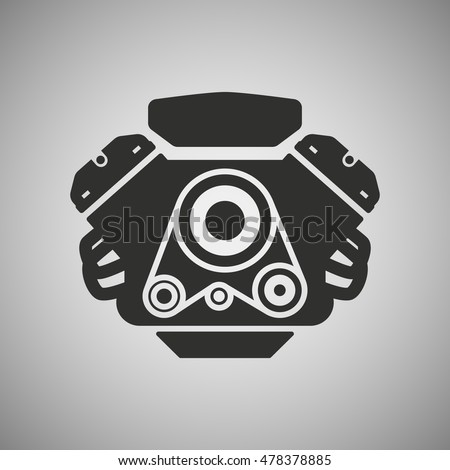 stock-vector-car-engine-icon