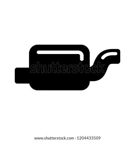car exhaust pipe illustration - exhaust symbol, car sign. motor exhaust symbol