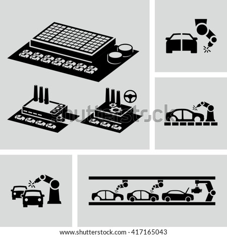 Car Assembling Free Vector Art 84 Free Downloads