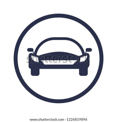 Car flat icon vehicle, Vehicle Logo