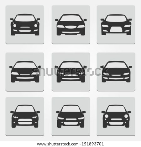 car front icons