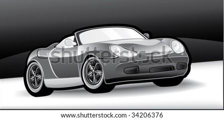 Car gray