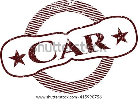 Car grunge seal