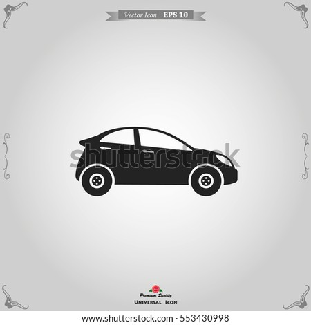 Car icon. Car icon. Transportation vector illustratoin