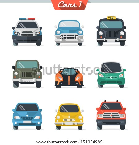 Shutterstock Car icon set 1