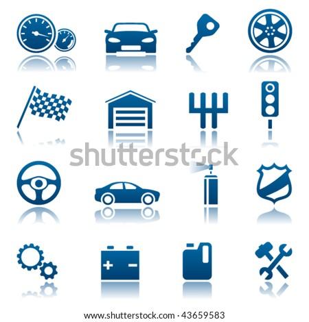 Car Icon Set Car Icon Set