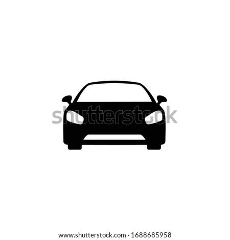 car icon sign vector. Transportation icon